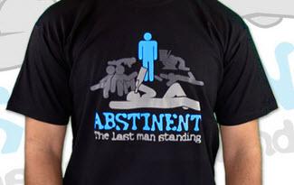 Abstinent pánské tričko