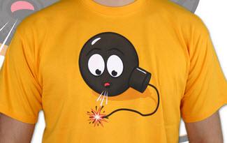 Bomba pánské tričko