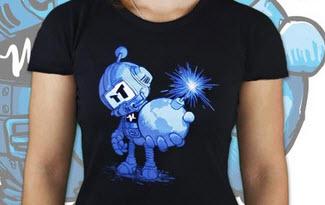 Časovaná bomba dámské tričko