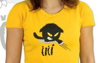 Čičina žluté dámské tričko