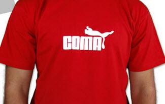 Coma červené pánské tričko
