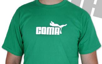Coma zelené pánské tričko